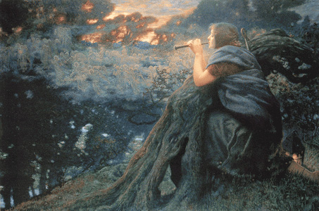 Twilight Fantasy, Edward Robert Hughes