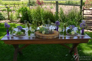 """Market Tables 72""""x 36"""" x 30""""h Benches available 72"""" x 12"""" x 18""""h"""