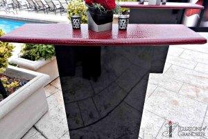 Acrylic Tall Cocktail Tables