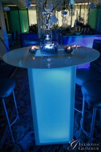 LED Acrylic Cocktail Table