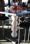 Tall Orb Cocktail Table