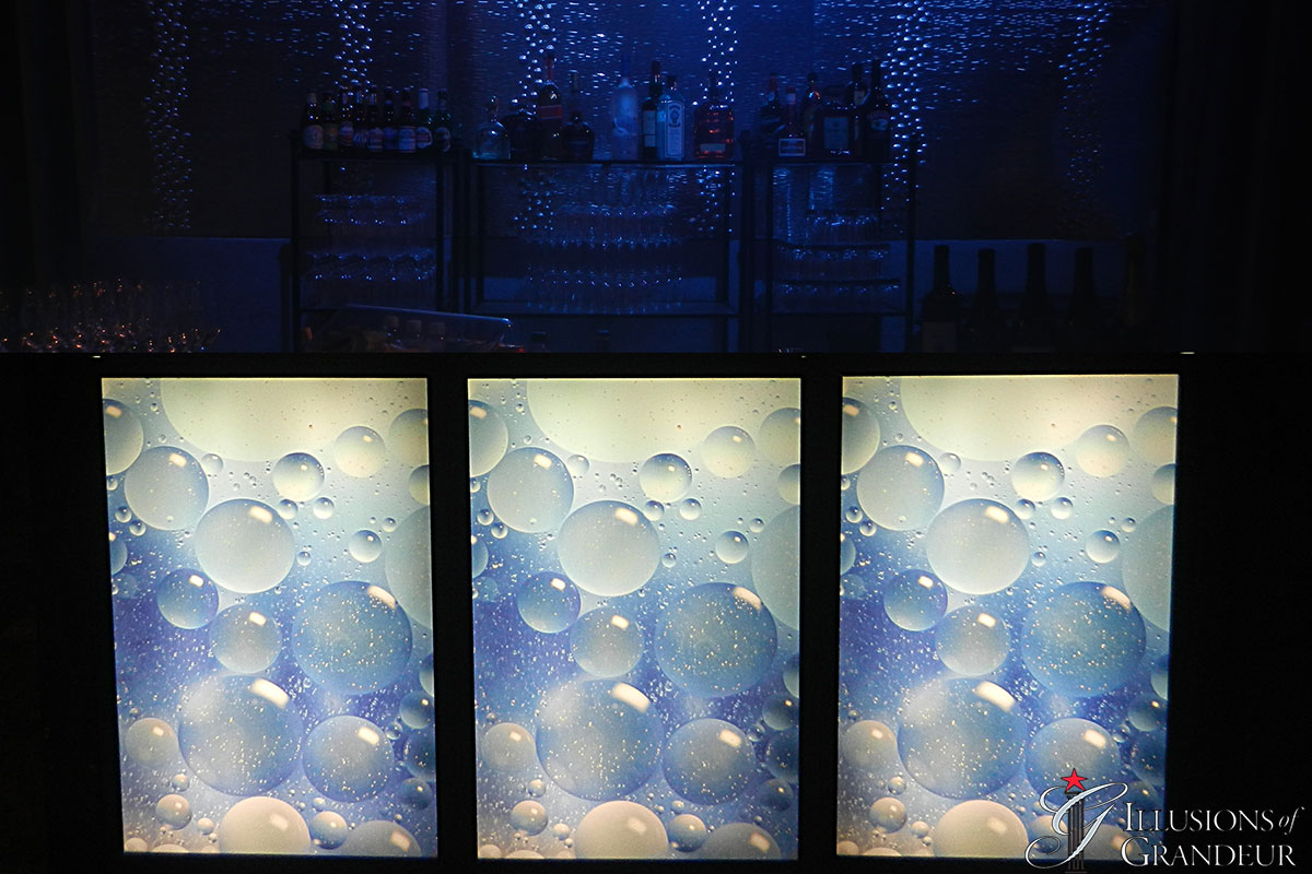 Lightbox Bar Bubbles