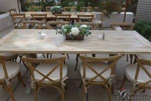 "Vintage Farm Tables 40"" x 96"" x 30""h"