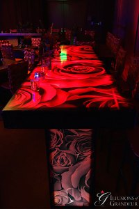 """Rose Communal Tables 24"""" x 96"""" Top x 42""""h"""