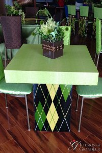"Argyle Cocktail Tables 32"" x 32"" Top x 30""h"