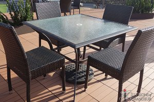 """Patio Dining Tables 40""""x40""""x28.5""""h"""