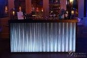 """Corrugated Metal Acrylic Metal Bar 24""""x94""""x46""""h"""