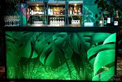 "Jungle Bar 24""x94""x46""h"