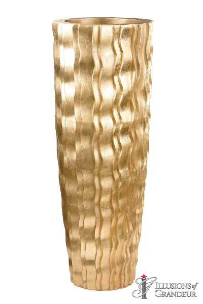 Gold Wave Urn large