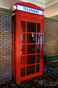 "British walkthrough Telephone Booth 48""x 48""x96""H"