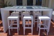 Palmero-Communal-Bar-Table-Set