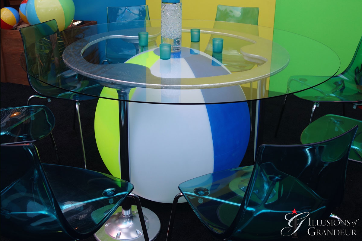 Beach Ball Tables