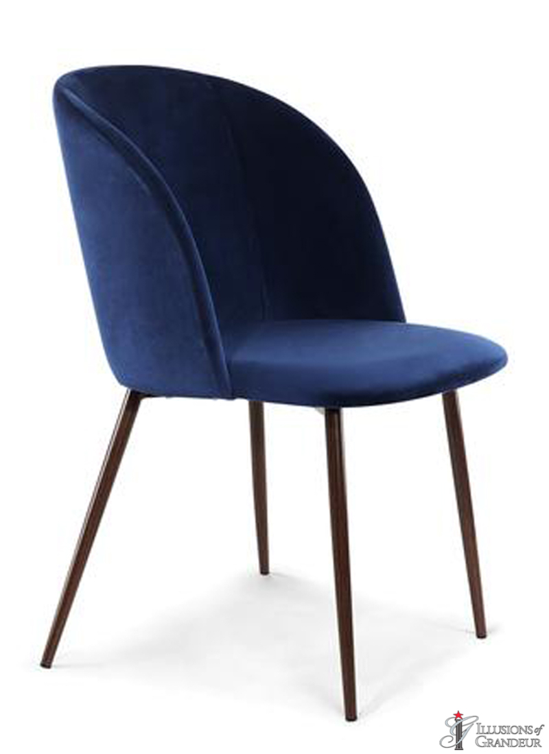 Blue Velvet Dining Chairs