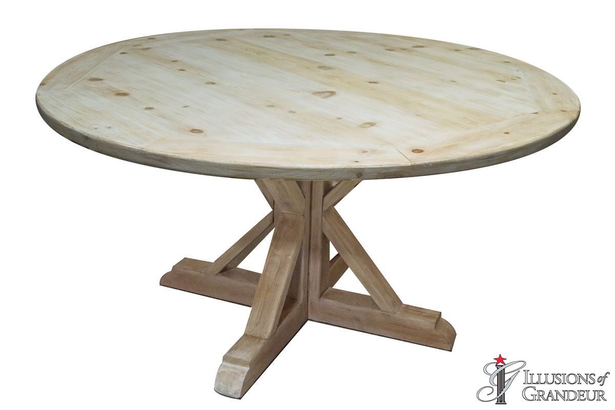 """60"""" Vintage Round Dining Tables"""
