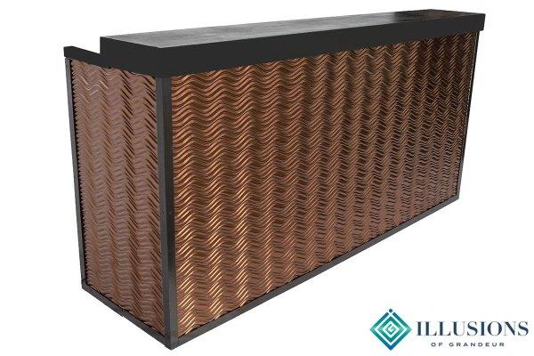 Bronze Wave Bars