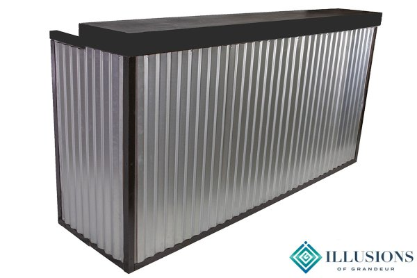 Corrugated Metal Bars