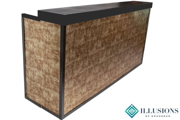 Corrugated Rusted Metal Bar