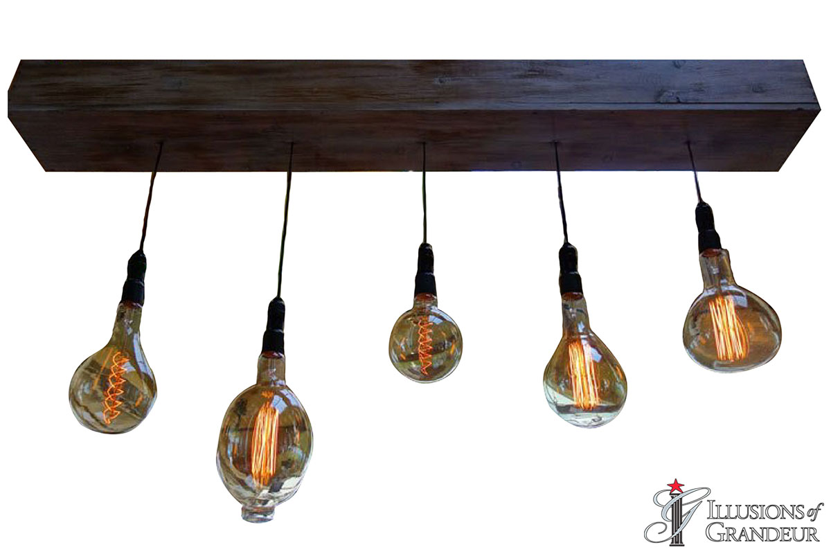 Edison Light Bulb Pendants