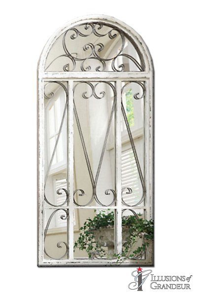 Garden Doors with Mirror