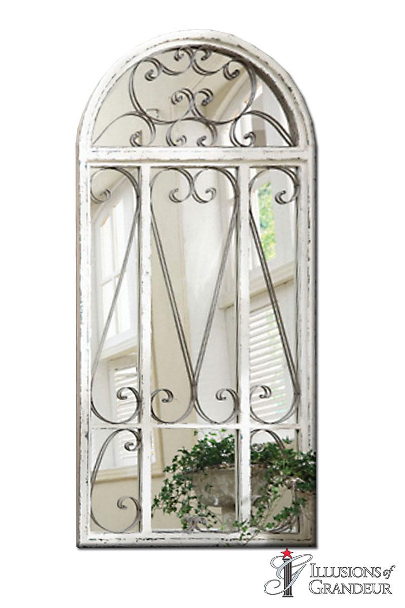 Garden Doors with Mirror