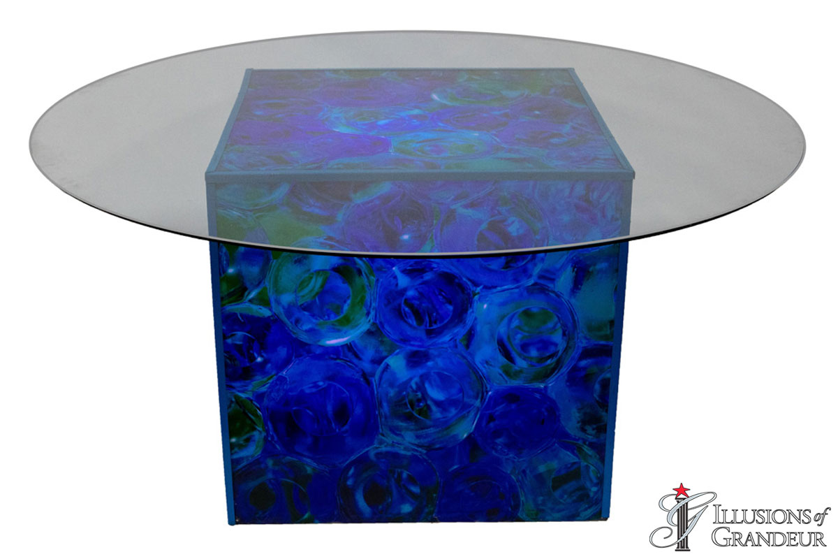 Glass Float Dining Tables
