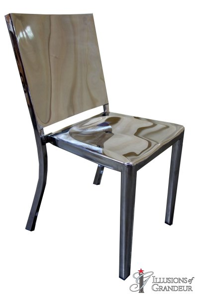 Silver Stainless Steel Chairs