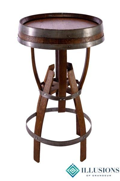 Wine Barrel Cocktail Tables