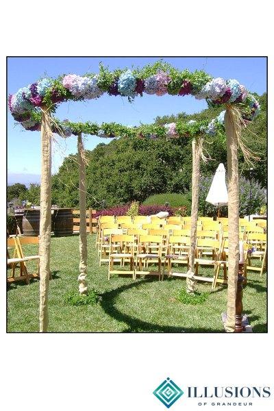 Wedding Circular Structure