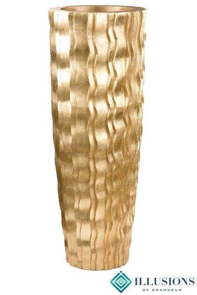 Gold Wave Urn large