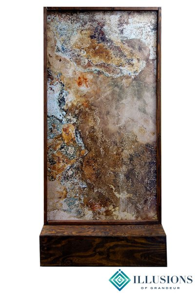 Room Divider with Slate Image