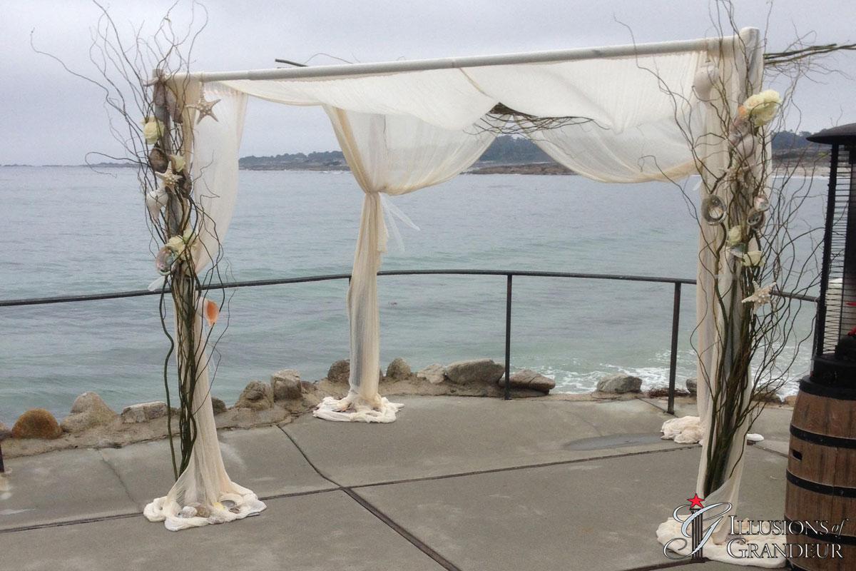 Wedding Ocean Arch