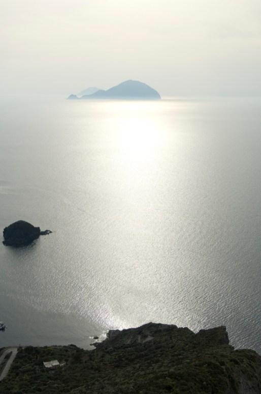 Salina, Isole Eolie. Vista da Pollara