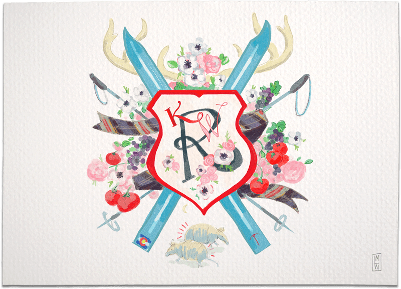 Illustrated Monogram Sample Image