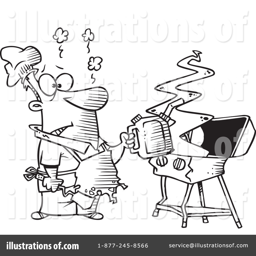 Barbecue Grill Coloring Pages Coloring Coloring Pages
