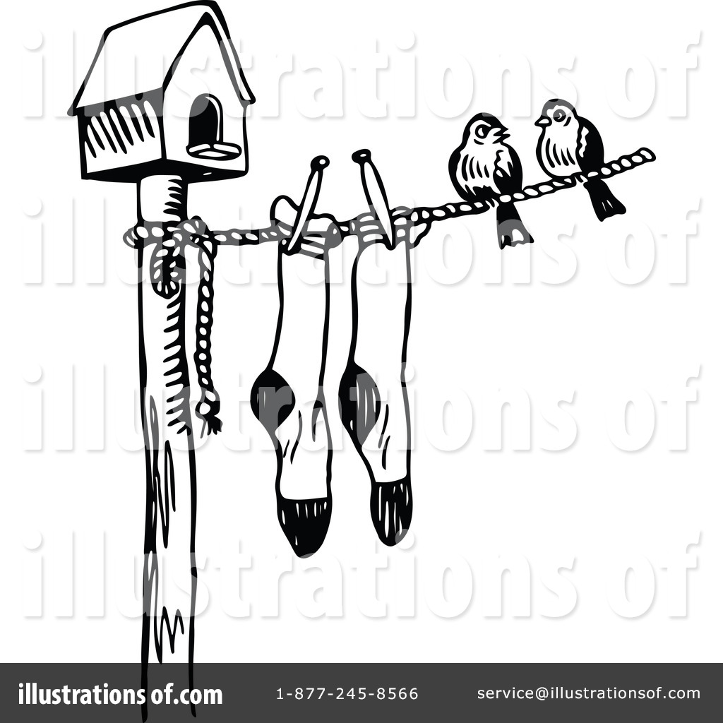 Clothesline With Socks