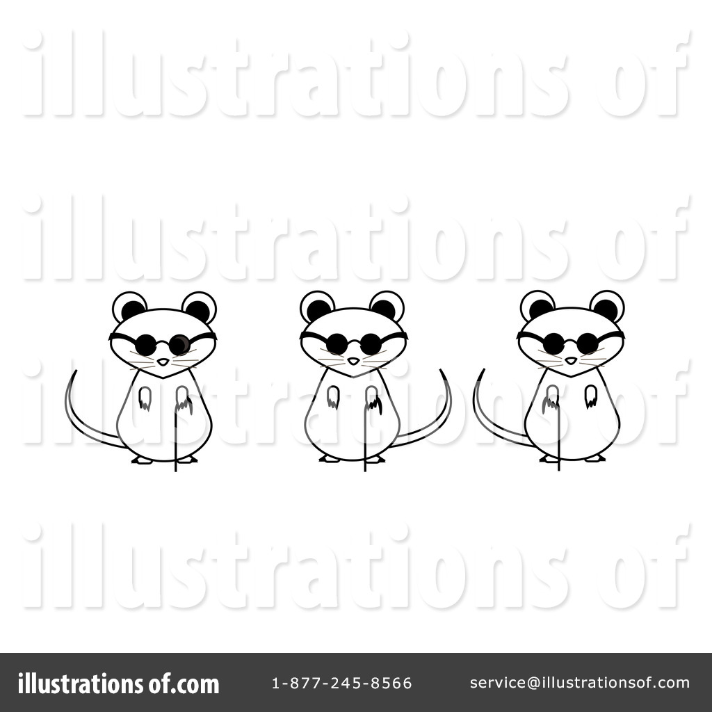 Blind Mice Clipart