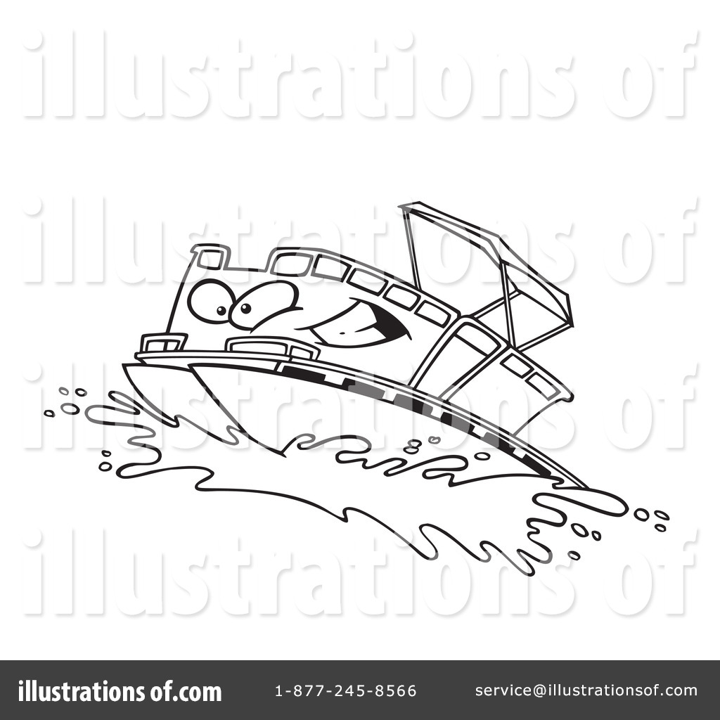 Pontoon Boat Painting