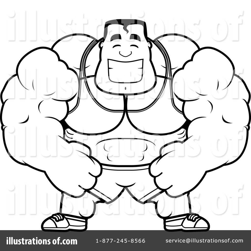Bodybuilding Coloring Sheets Coloring Coloring Pages