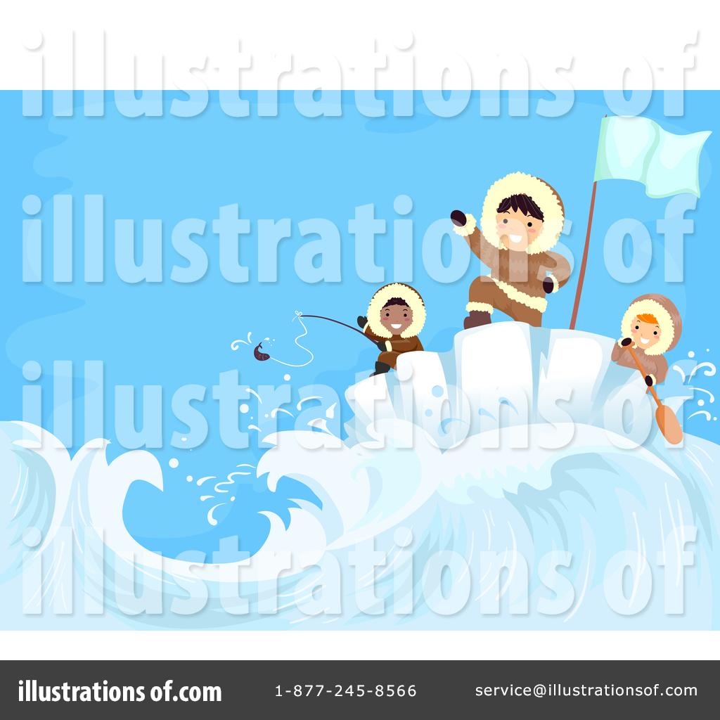 Ice Fishing Clip Art Family