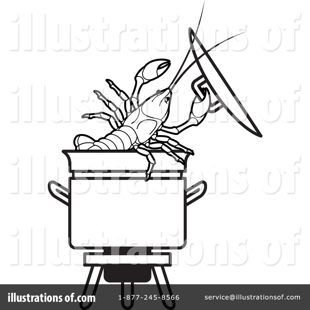 Pot Of Crawfish Coloring Sheets Coloring Pages