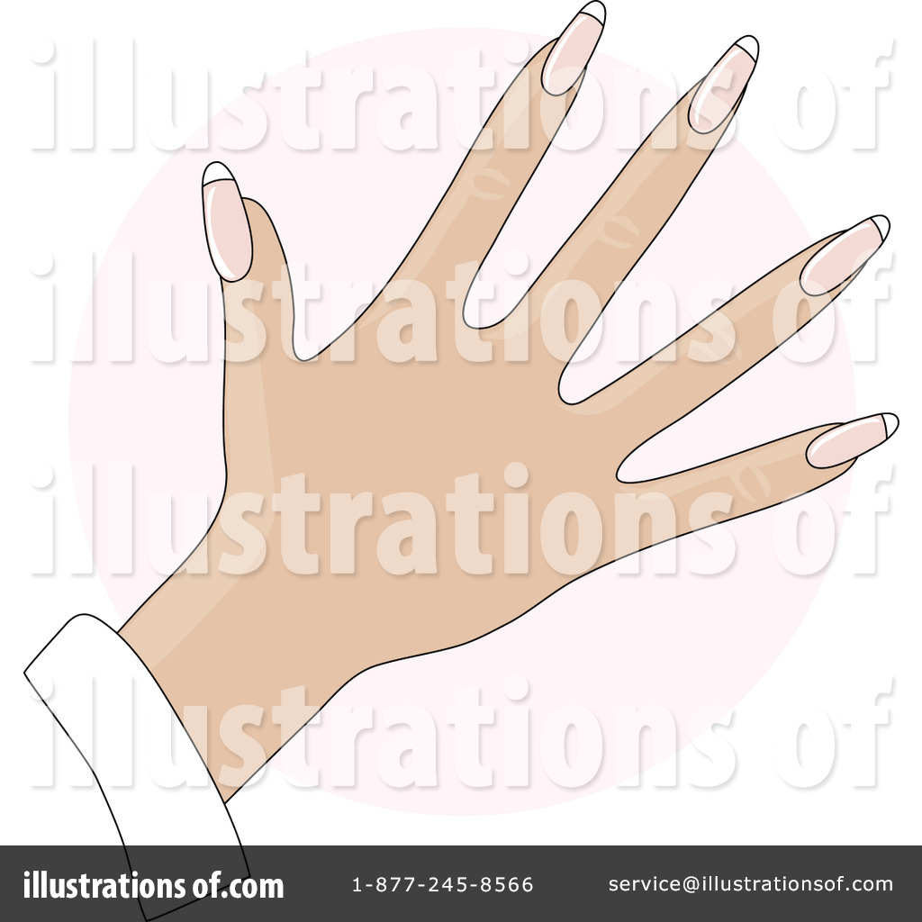 Royalty Free Rf Fingernails Clipart Ilration 20482 By Maria Bell