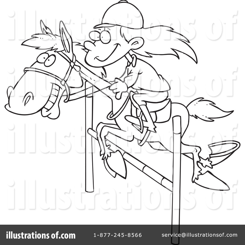 Horse Clipart By Ron Leishman