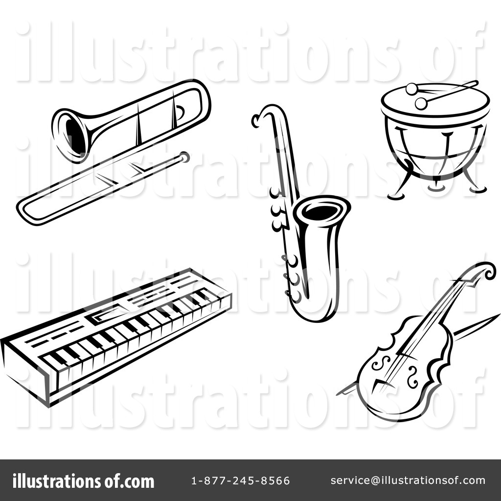 Instruments Clipart By Seamartini Graphics