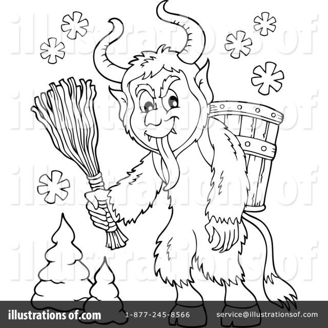 Krampus Clipart #18 - Illustration by visekart