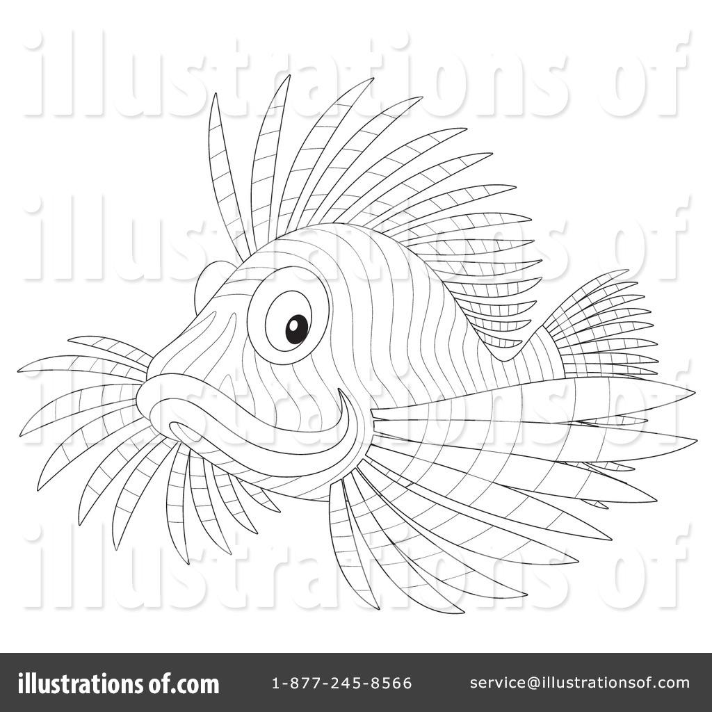 Lion Fish Clipart