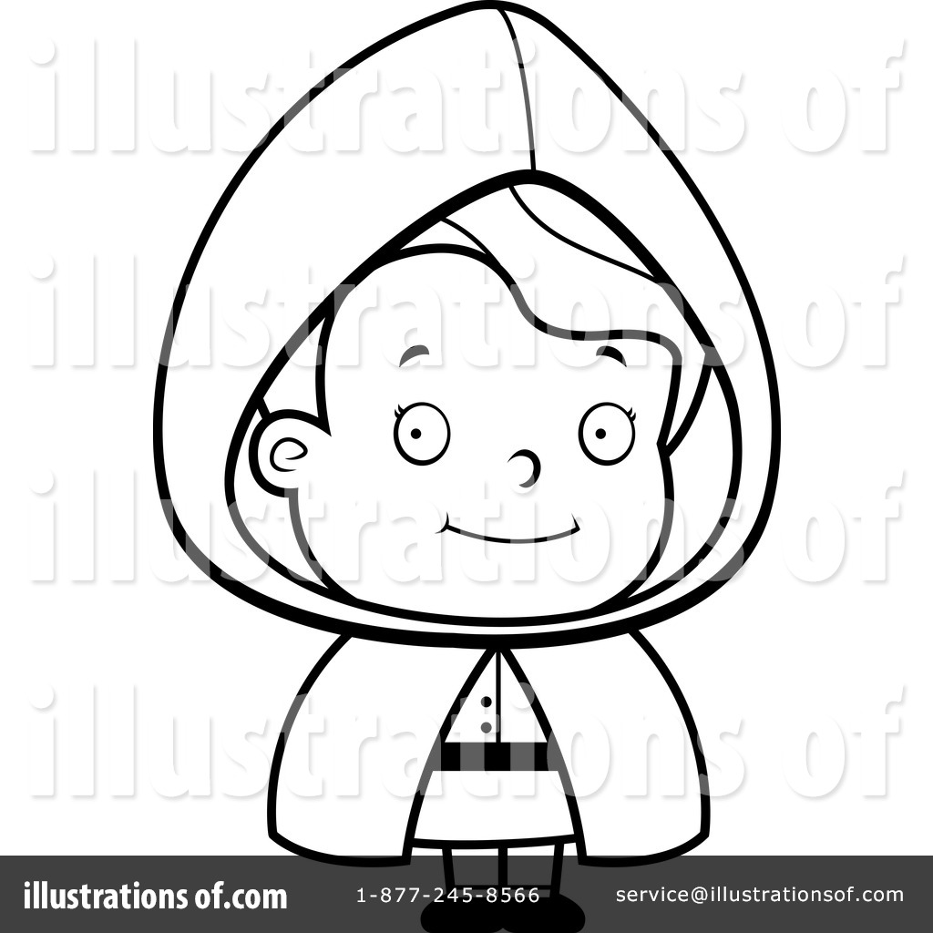 Red Riding Hood Clip Art Black And White Cliparts