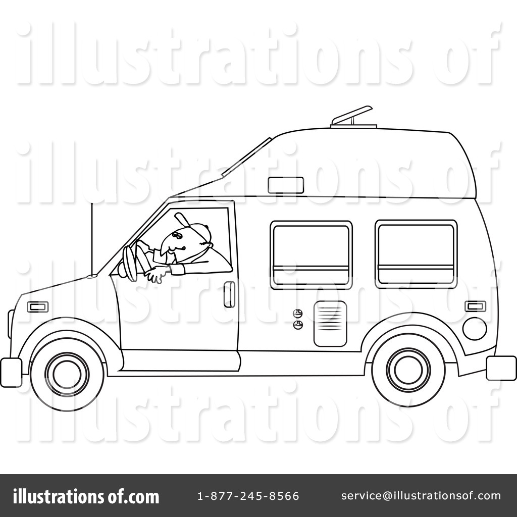 Motorhomes Coloring Coloring Page Coloring Pages