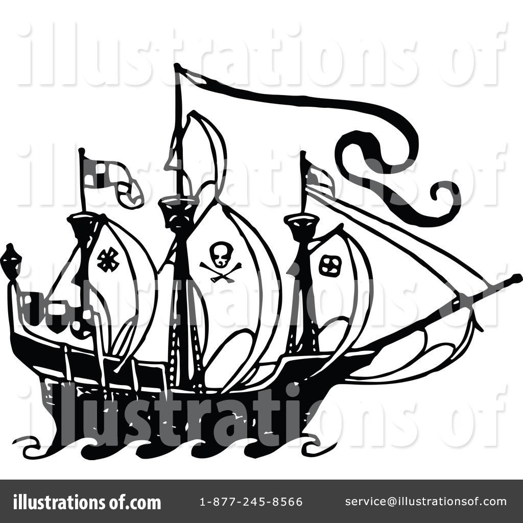 Pirate Ship Clipart
