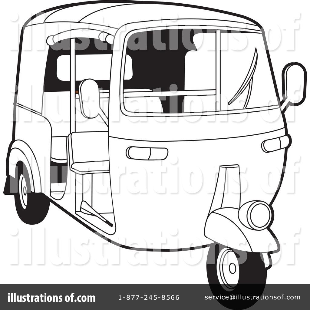 Rickshaw Clipart