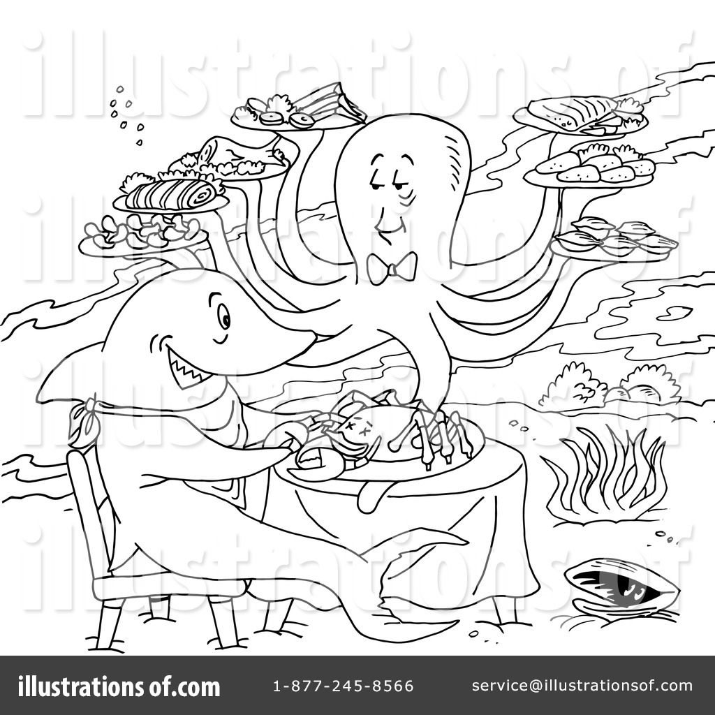 Lobster Trap Coloring Page Sketch Coloring Page